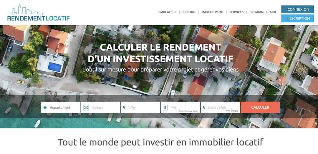RENDEMENT LOCATIF – LE SIMULATEUR DES INVESTISSEURS IMMOBILIER